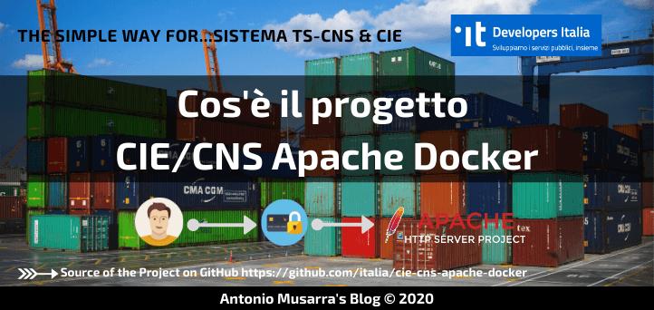Cos'è il progetto CIE/CNS Apache Docker